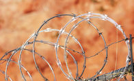 Fence CBT65 Razor Concertina Barbed Wire For United Kingdom Of 304 Stainless Steel