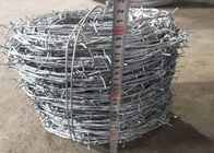 Galvanised Garden Security Barbed Wire 25M Length 1.7mm Wire Diameter