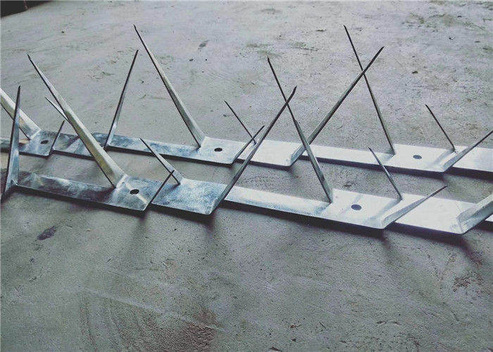 Metal Fencing Wall Security Spikes Anti Theft 1.25m Length 2mm Thickness